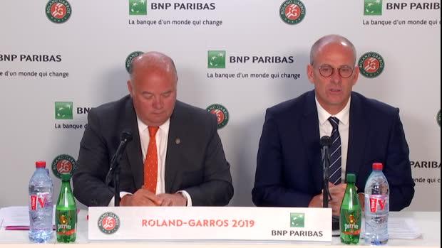 : Roland-Garros - Forget dresse le bilan de l'édition 2019 - 'On a été gâtés'