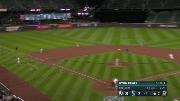 Healy reaches on Chapman's error