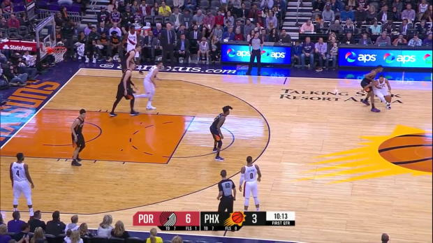 WSC: CJ McCollum (21 points) Highlights vs. Phoenix Suns