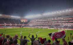 NSW Minister for Sport Stuart Ayres unveils what Western Sydney's new stadium will look like once complete.
