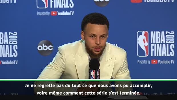 """Basket : Finals - Curry - """"Beaucoup de bons souvenirs dans cet édifice"""""""
