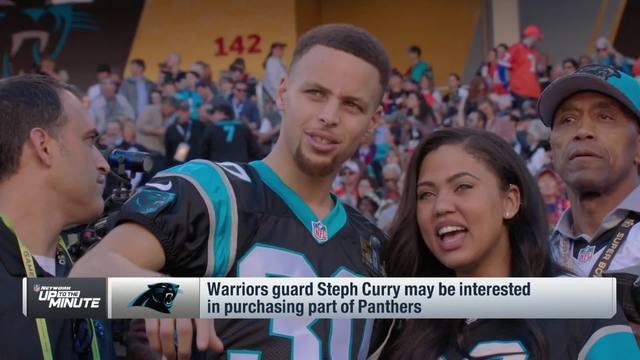 Steph Curry says talks are 'ongoing' for potential Panthers ownership