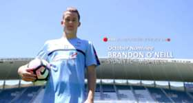 Sydney FC midfielder Brandon O'Neill discusses his October nomination for the NAB Young Footballer of the Year Award.