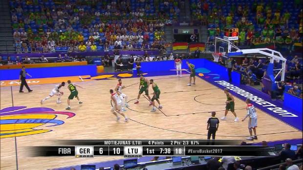 DBB-Team chancenlos gegen Litauen