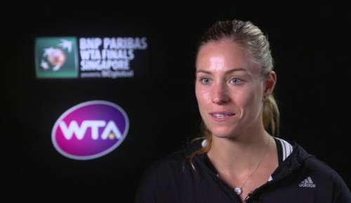Kerber Interview: WTA Singapore 2R