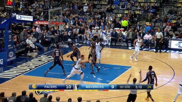 WSC: Dallas Mavericks with 15 3-pointers against the Pacers