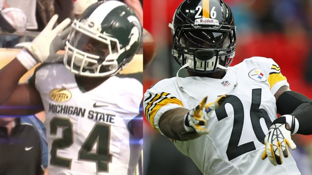Le'Veon Bell morphs from MSU mauler to Steeler hammer