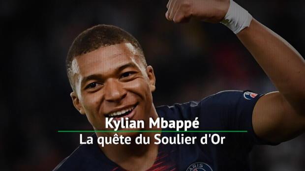 PSG - Mbappé, la quête du Soulier d'Or