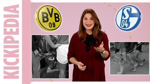 Kickipedia: Als der Schalke-Präsident mit Löwen aufs Spielfeld kam