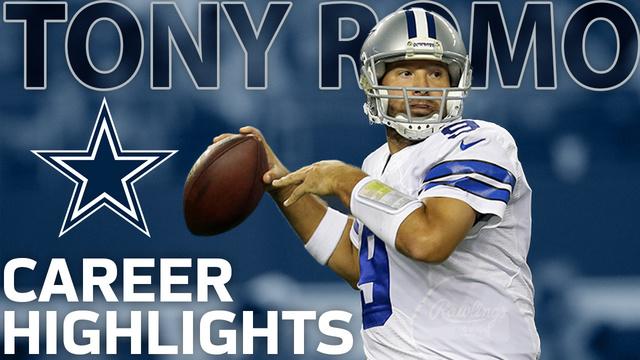 Former Dallas Cowboys quarterback Tony Romo career highlights | NFL Legends