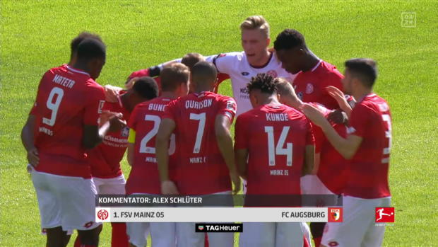 Bundesliga: 1. FSV Mainz 05 - FC Augsburg | DAZN Highlights