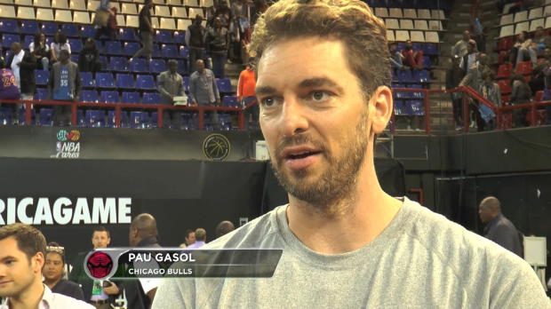 "Basket : NBA - Africa Game - Gasol - ""Un match incomparable"""