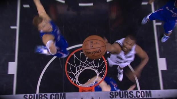 Basket : NBA - Play-offs - Les Clippers poussent les Spurs au match 7