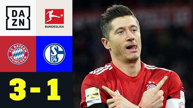 Bundesliga: FC Bayern München - FC Schalke 04 | DAZN Highlights