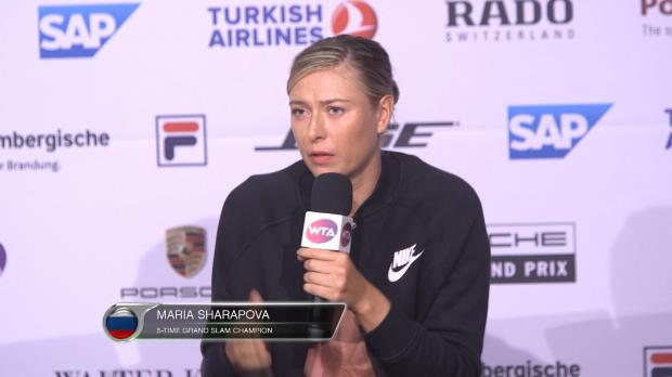 Sharapova, sobre los controles antidopaje