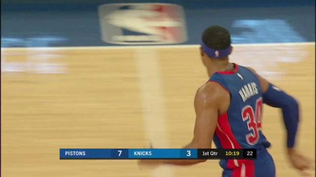 WSC: Highlights: Tobias Harris (31 points) vs. the Knicks, 10/21/2017