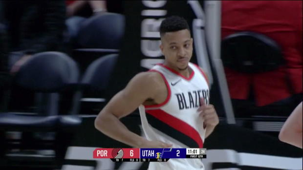 WSC: CJ McCollum (26 points) Highlights vs. Utah Jazz
