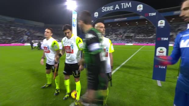 Serie A: Sassuolo - Lazio   DAZN Highlights