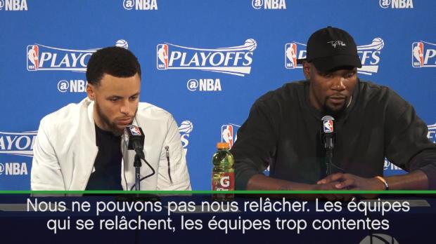 Play-offs - Durant - 'Ne pas de relâcher'