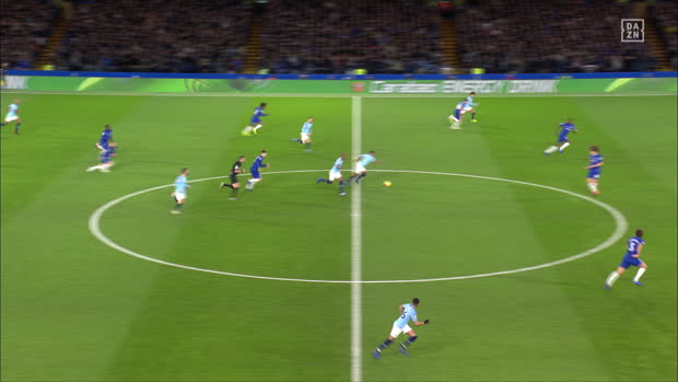 Premier League: Chelsea - Man City | DAZN Highlights