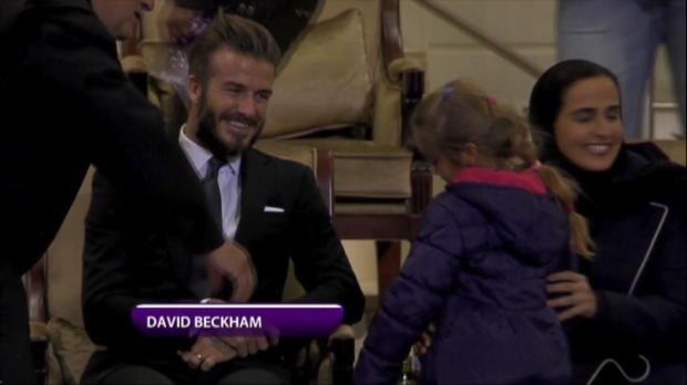 Doha: David Beckham Zeuge bei Halbfinal-Krimi