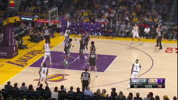 GAME RECAP: Lakers 111, Kings 106