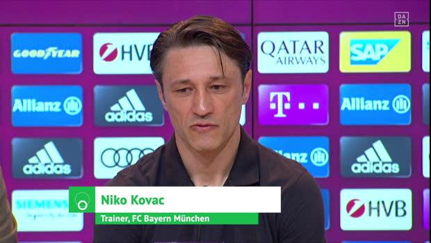 Emotionaler Kovac bedankt sich bei Bayern-Fans