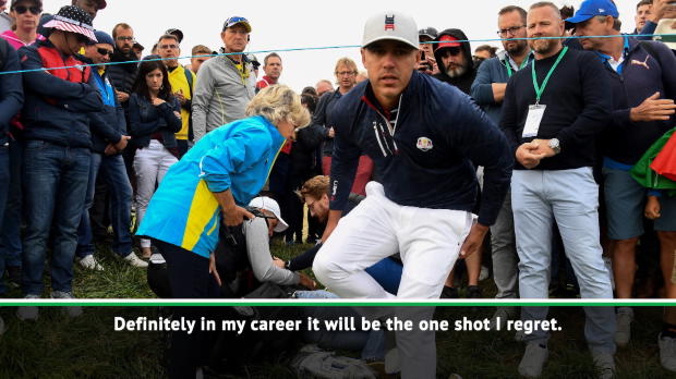 Koepka 'all messed up' after fan blinded in one eye at Ryder Cup