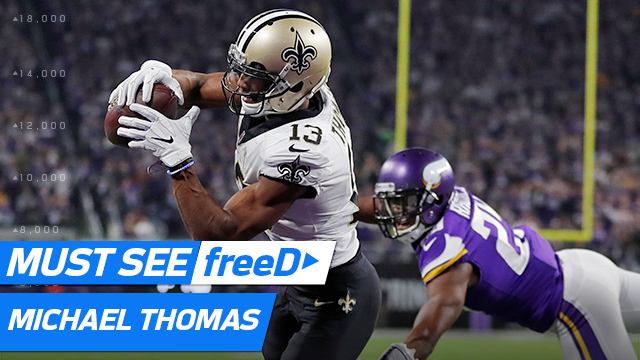 freeD: See Michael Thomas beat Xavier Rhodes for TD | NFC Divisional Round