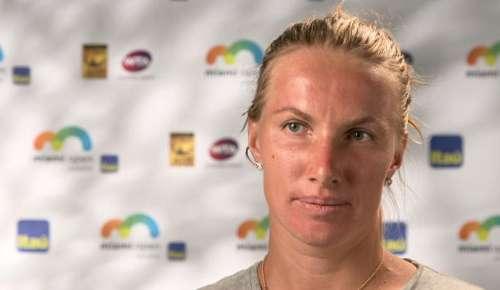 Kuznetsova Interview: WTA Miami SF