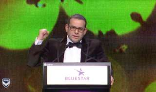 Watch Melbourne Victory chairman Anthony Di Pietro's Victory Medal speech in full.