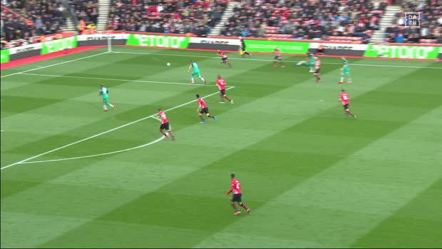 Premier League: Southampton - Tottenham   DAZN Highlights