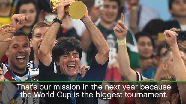 Germany already eyeing World Cup glory - Loew
