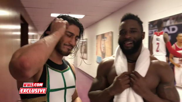 Cedric Alexander and Mustafa Ali react to their thrilling battle on WWE 205 Live: WWE.com exclusive, Jan. 23, 2018