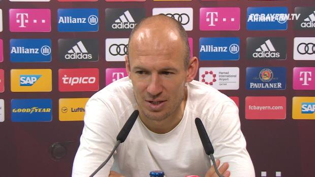 "Robben über van Gaal: ""Bin ihm sehr dankbar"""