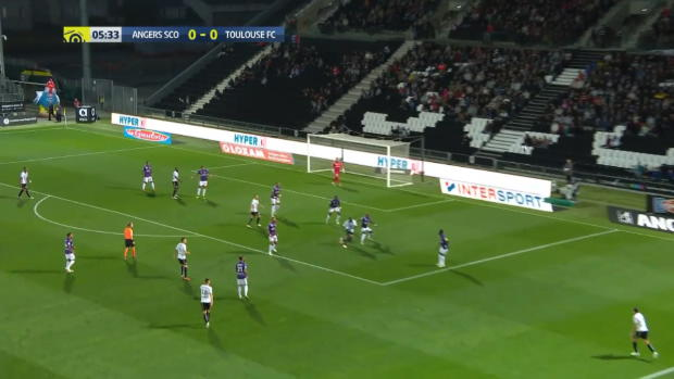 Ligue 1: Angers - Toulouse | DAZN Highlights