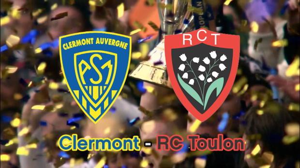 Top 14 - Quarts : Clermont:Toulon en chiffres