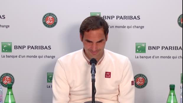 """Basket : Roland-Garros - Federer - """"Ce sera très important d'avoir un toit"""""""