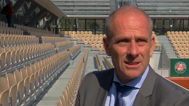 Roland-Garros - Forget - 'Il y aura une ambiance électrique sur ce nouveau court'