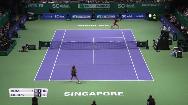 : Masters - Stephens domine Osaka