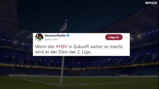 Die Netzreaktionen zum HSV-Nicht-Aufstieg