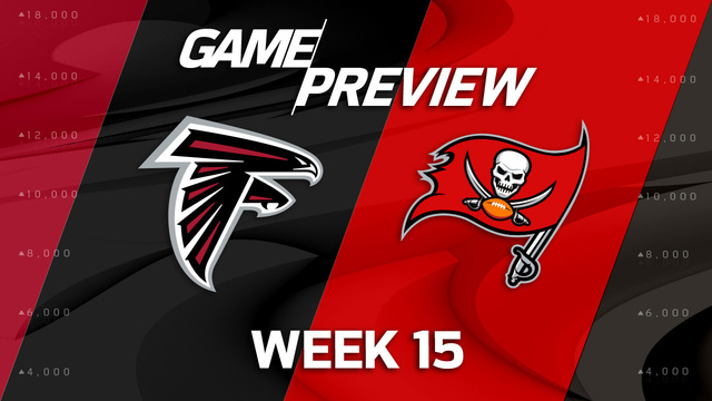 Atlanta Falcons vs. Tampa Bay Buccaneers preview | 'NFL Playbook'