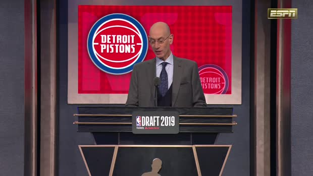 Detroit Pistons select Sekou Doumbouya 15th overall