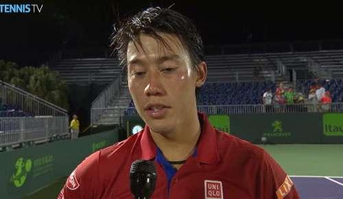 Nishikori Interview: ATP Miami 4R