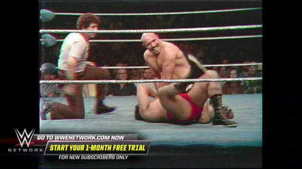 The Iron Sheik dismantles his opponent as Vince McMahon calls the action: All-Star Wrestling, April 14, 1979 (WWE Network Exclusive)