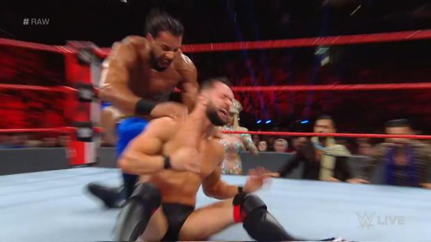 Finn Bálor vs. Jinder Mahal: Raw, Oct. 15, 2018