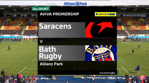 Aviva Premiership - Match Highlights - Saracens v Bath Rugby
