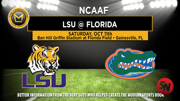 LSU Tigers @ Florida Gators