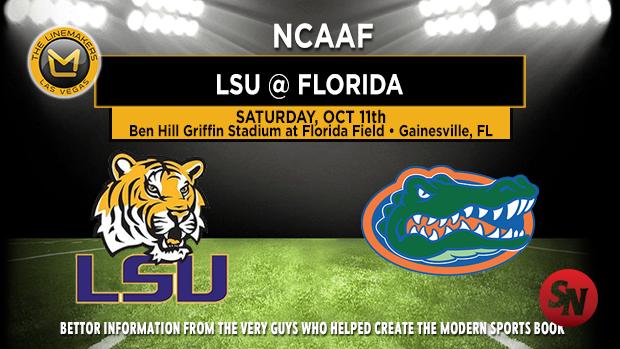 LSU Tigers @ Florida Gators