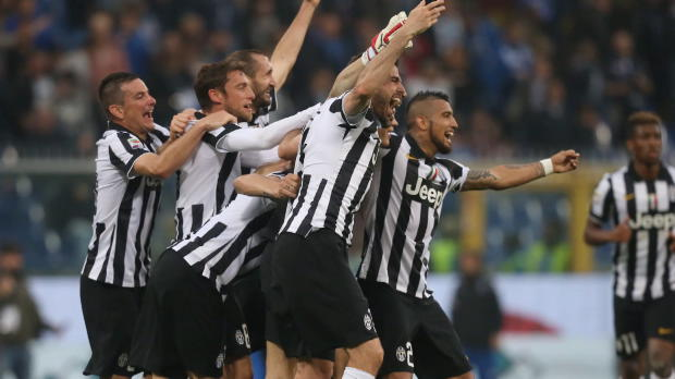 Juventus und Allegri feiern Meisterschaft